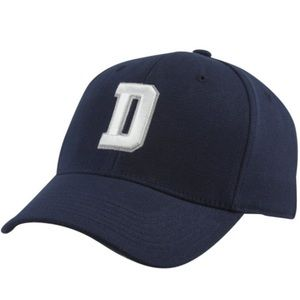 Dallas Cowboys D Flex Hat - Navy Blue